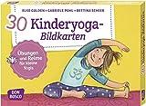 30 Kinderyoga-Bildkarten: Übungen und Reime für kleine...
