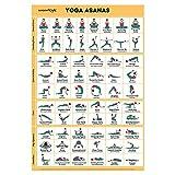 Sportaxis Yoga-Posen-Poster - 64 Yoga-Asanas für...
