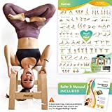 FeetUp® Yoga Kopfstandhocker - Original Kopfstand Trainer...